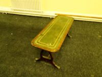 Antique, Green Leather Top Table ONLY 50 POUNDS MUST GO!!