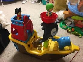 Musical pirate ship