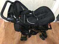 Hauck travel system (push chair + car seat)