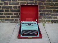 FREE DELIVERY Vintage Olivetti Studio 44 Typewriter