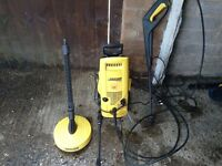 Karcher B203 pressure patio/ car washer comes with 3 attachments powerfull vgc gwo seen working