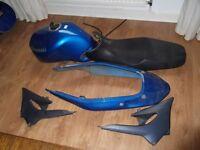 Kawasaki Zr 7 body work