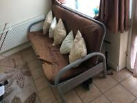 Debenhams large unfolding sofa bed