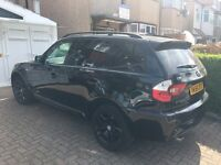 Hi m selling my lovely bmwx3 because of an upgrade