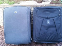 LARGE SOFTSIDE TRAVEL CASES (2)