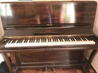 Kirkman compact piano - excellent condt, newly tuned - REDUCED for quick sale £300.00