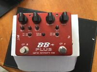 Exotic Effects BB+ Plus Overdrive Pedal