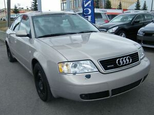 1999 Audi A6 QUATTRO AWD H.SEATS/S.ROOF/LEATHER