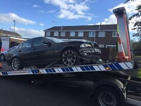Black E46 BMW 2.5 petrol for spares
