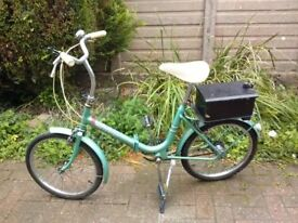 Hercules Compact, Folding Bicycle/Bike.
