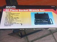 40 piece socket wrench set