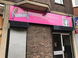 Currently second hand furniture Shop LEASE for sale