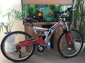 Good condition full suspension bike cycle