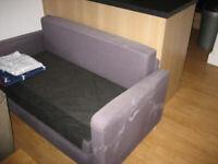 Compact Ikea sofa bed