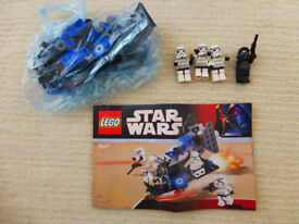 Lego Starwars 7667 Imperial Dropship 100% complete