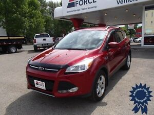 Red 2014 Ford Escape SE All Wheel Drive 5 Passenger, 18,873 KMs