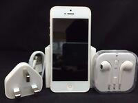 Apple iPhone 5 - 32GB - White & Gold (Unlocked) Smartphone