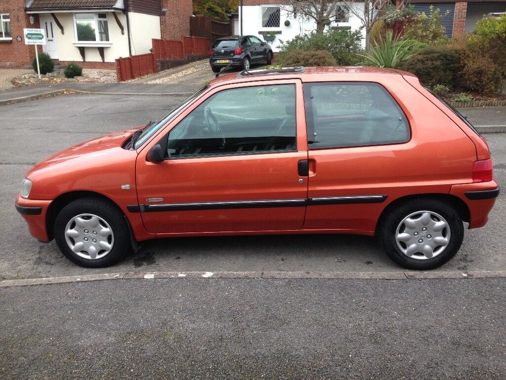 Peugeot 106 Independence - 51 plate