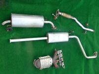 Hyundai Getz Complete Exhaust System incl CAT etc..(2004 1.3GSi) Only used for a few weeks.