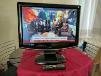"""22"""" 22 Inch LCD TV with built-in Freeview with built-in DVD player - Can deliver locally"""