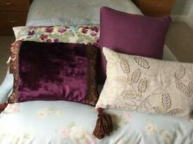 Laura Ashley Cushions x Four. Please see description, all priced separately.