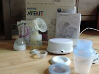 philips AVENT single electric breast pump SCF332