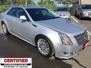 2011 Cadillac CTS ** AWD, HTD/COOLED SEATS, BACKUP CAM **