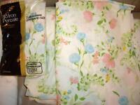 NEW GOOD QUALITY DOUBLE SIZE QUILTS & SHEET SETS & TOWELS