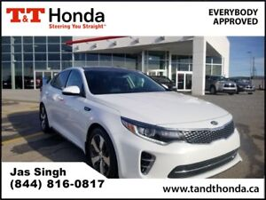 2016 Kia Optima SX Turbo* Heated Seats/ Steering Wheel, Rear Cam