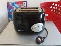 Black 2 slice toaster