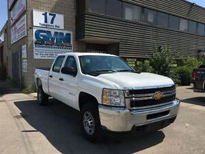 2012 Chevrolet SILVERADO 2500HD WT Crew Cab Short Box 4X4 Gas
