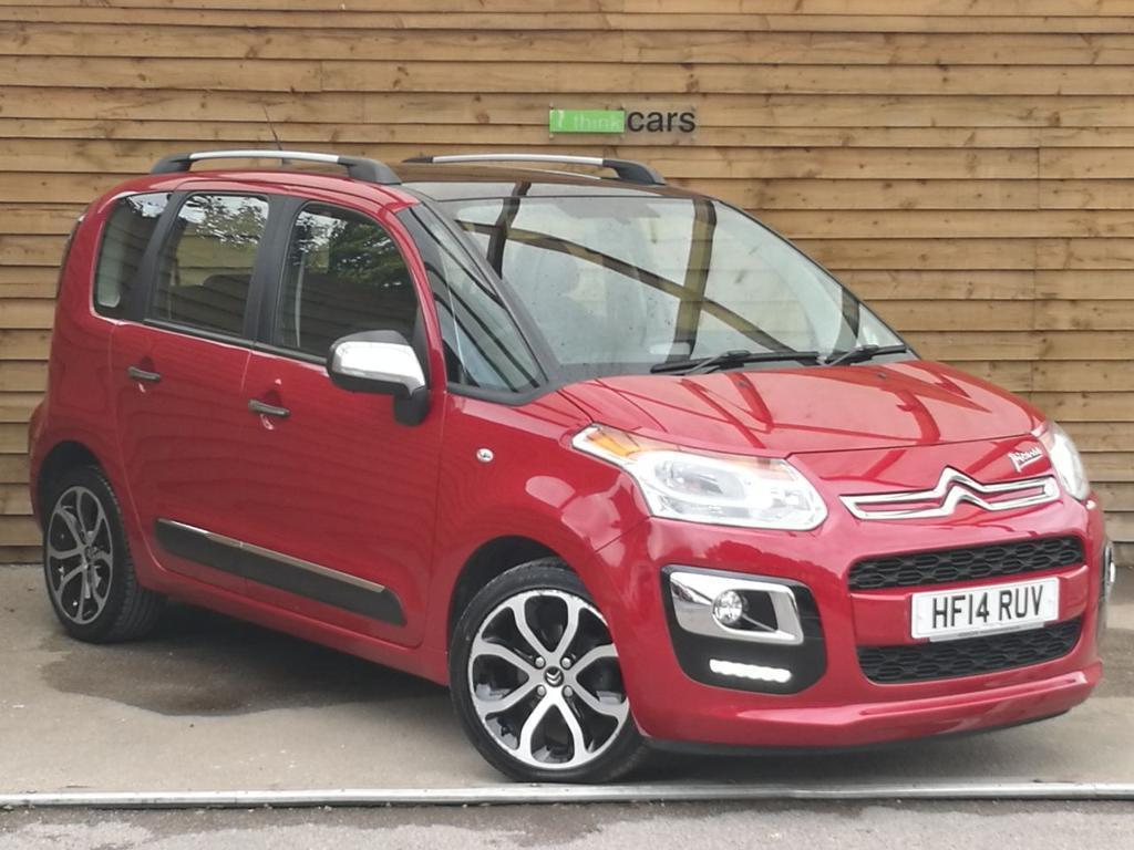citroen c3 picasso 1 6 hdi 8v selection 5dr one private owner ruby red metallic 2014 in. Black Bedroom Furniture Sets. Home Design Ideas