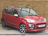 Citroen C3 Picasso 1.6 HDi 8V Selection 5dr ONE PRIVATE OWNER (ruby red metallic) 2014
