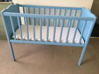 Baby cot and Microfibre Crib Mattress