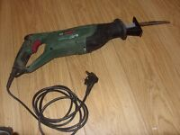 Bosch Electric Saw PSA 700 E - Reciprocating Multi Saw Power Tool 710W - Full Working Order