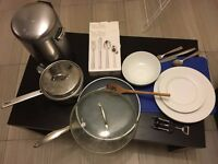 Kitchen Stuff: Pot, Pan, Dishes, Utensils, Chopping Board etc. for CHEAP!!!