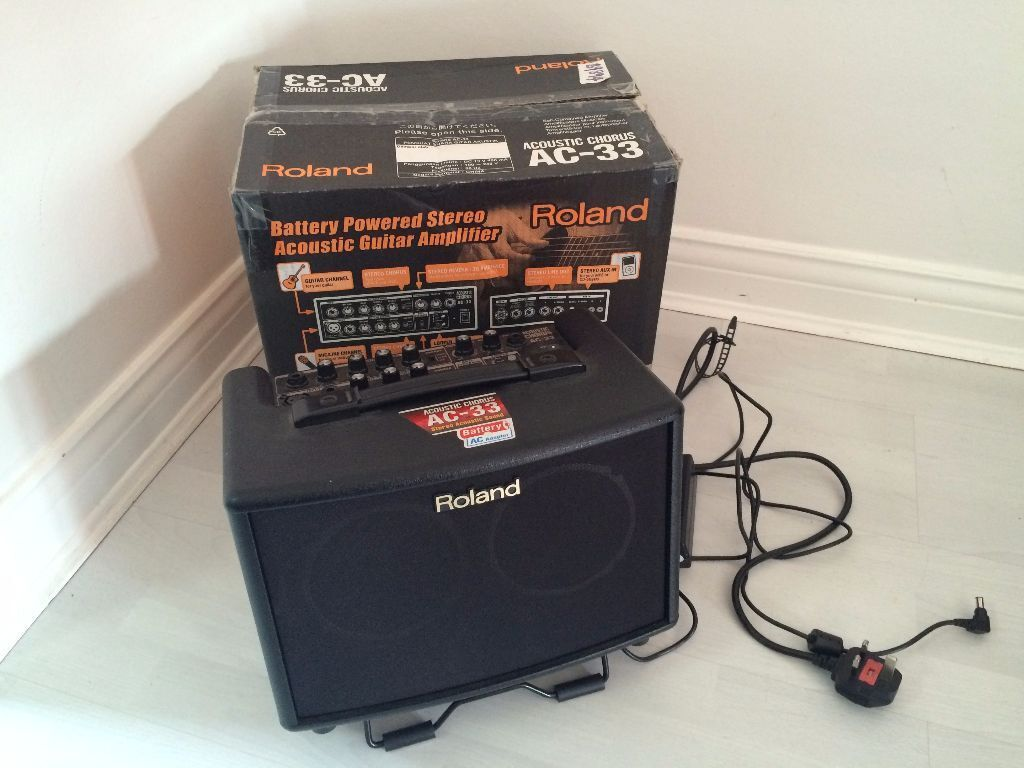 Roland AC 33 Battery Powered Acoustic Chorus Guitar  : 86 from www.gumtree.com size 1024 x 768 jpeg 90kB