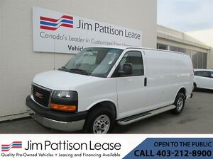 2015 GMC Savana 2500 4.8L RWD Cargo Van w/Partition & Power Grou