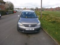 VW GOLF PLUS 1.9 TDI FSH (CAM BELT CHANGED)IMMACULATE CONDITION
