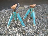 Pair of Folding Axle Stands