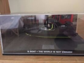 1:43 Q Boat - JAMES BOND COLLECTION - The World is not Enough - FABBRI