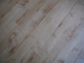 Ash Laminate Flooring - used, FREE to collector