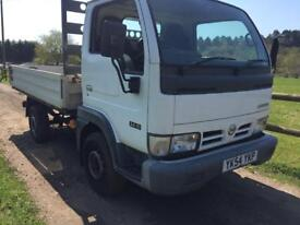 Nissan Cabstar 3.0 5 speed 34.10 2005 drives very well LOW MILES