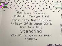 Public Image Ltd ticket