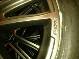 """17 """" fox racing wheels"""