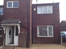 3 bedroomed spacious townhouse in Leigh close to Leigh hospital and Lilford country park