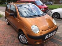 2001 (51) Daewoo Matiz 0.8 (Petrol) 5 Speed Manual 5 Door Hatchback Orange