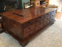 Coffee table - Laura Ashley Garrett Walnut coffee table