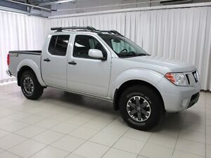 2019 Nissan Frontier PRO-4X 4x4 CREW CAB WITH NAVIGATION, SUNROO