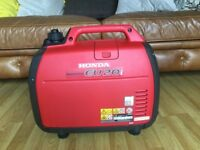 Honda 2.0 suitcase generator brand new